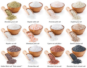 Sea salts from around the world